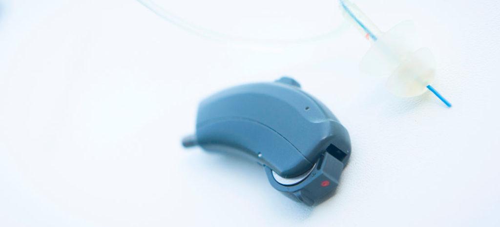 Audífono de los que funcionan a pilas